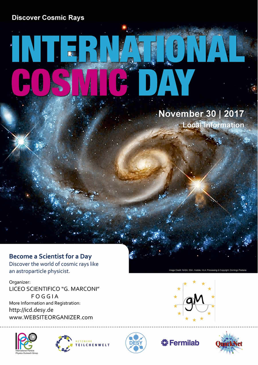 Poster COSMIC DAY